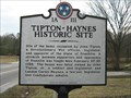 Image for Tipton-Haynes Historical Site - 1A111 - Johnson City, TN