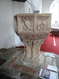 Image for Baptism Font - St Peter - Shackerstone, Leicestershire