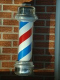 Image for Barber Pole - Mountain City, Tennessee.