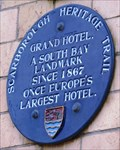 Image for Grand Hotel, St Nicholas Cliff, Scarborough, Yorks, UK