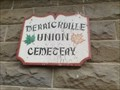 Image for Merrickville Union Cemetery, Wolford Township, Grenville County, Ontario