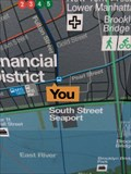 Image for South Street Seaport Map (BOTTOM) - New York, NY