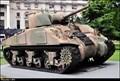 """Image for M-4A4 """"Sherman"""" medium tank - Edificio Libertador (Buenos Aires)"""