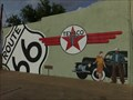 Image for Texaco Gas Station Mural - Tucumcarie, New Mexico, USA.