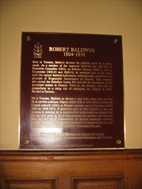 Bon Echo visited Robert Baldwin National Historic Person of Canada