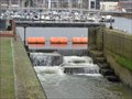 Image for Tawe Barrage - Fish Ladder - Swansea, Wales.