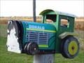 Image for Farm Tractor Mailbox - Lambton Shores, Ontario