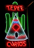 Image for TePee Curios - Artistic Neon - Tucumcari, New Mexico, USA.