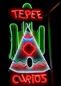 Image for TePee Curios - Artistic Neon - Tucumcari, New Mexico, USA.