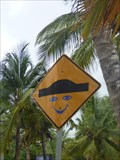 Image for Bumb sign smiley, Las Terrenas, Samana, Dominican Republic