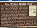 Image for Red Lodge Freight Road - Park County, WY