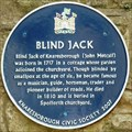 Image for Blind Jack of Knaresborough, Parsonage Lane, Knaresborough, N Yorks