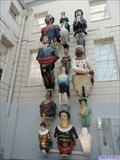 Image for Collection of Sailing Ship Figureheads - National Maritime Museum, Greenwich, London, UK