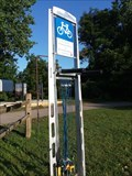 Image for Kalhaven Trailhead Bicycle Repair Station - South Haven, Michigan, USA