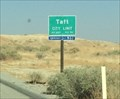 Image for Taft, California ~ Elevation 894 ft.