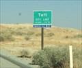Image for Taft, California ~ Elevation 894 ft.