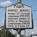 Image for Dempsey Burgess, A-29