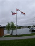 Image for Kempenfelt Bay Flagpole - Barrie, Ontario, Canada