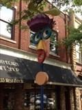 Image for Google-Eyed Way Finder (Face Whirligig) - Holland, Michigan