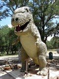 "Image for Cascade Caverns Park's ""Rex The Dinosaur"" - Boerne, TX"