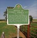 Image for Battle of Turkey Springs - NE of Freedom, OK
