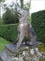 Image for Statue d'un Chien, les jardins du Château de Courances - Courances, France