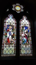 Image for Stained Glass Windows - St Cubert - Cubert, Cornwall