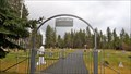 Image for St. Joseph's Cemetery Arch - Valley, WA