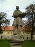 Image for Socha sv. Karla Boromejského - Rajhrad, Czech Republic