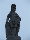 Image for Civil War Memorial, Female Allegory of America - Saugus, MA, USA