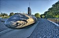 Image for USS Albacore, Submarine in a Ditch - Portsmouth NH