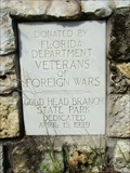 Image for Gold Head Park Veteran's Memorial - Keystone Heights, Florida