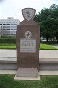Image for Texas WWI Memorial -- State Capitol Grounds, Austin TX
