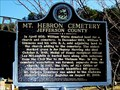 Image for Mt. Hebron Cemetery - Leeds, AL