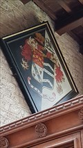 Image for John Sherwin-Gregory hatchment - St Mary & St Pater - Harlaxton, Lincolnshire