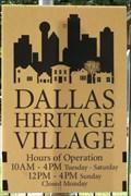 Image for Dallas Heritage Village - Dallas, TX
