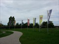 Image for Municipal Flags - Partnerschaftslabyrinth - Gunzenhausen, Germany, BY
