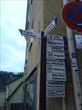 Image for Way Marker Marktstraße - Horb, BW, Germany