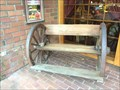Image for Wagon Wheel Bench - Costa Mesa, CA