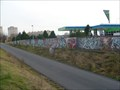Image for Graffiti wall - Ceske Budejovice, Czech Republic, EU