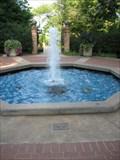 Image for Hubert Bond Owens Plaza Fountain, UGA Campus