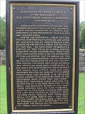 Image for Gettysburg Address, Shiloh National Cemetery - Shiloh, TN