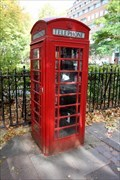 Image for Red Telephone Box - Queen's Square, London, UK