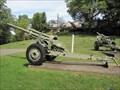 Image for 3 Inch Guns - Veterans Section Union Cemetery - Steubenville, Ohio