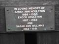 Image for Sarah & Enoch Houlston & Sarah Williams, Holy Trinity & St Mary, Dodford, Worcestershire, England
