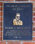 Image for Wilbur C. Donaldson - Dodge Center, MN.