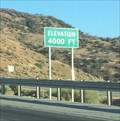 Image for Interstate 5 (Southbound) ~ Elevation 4,000