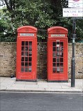 Image for Red Telephone Boxes - Maclise Road, Olympia, London, UK