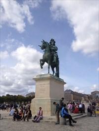Louis XIV of France - Versailles, 2014