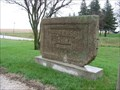 Image for Jefferson Highway Marker at Junction with Lincoln Highway – Colo, IA